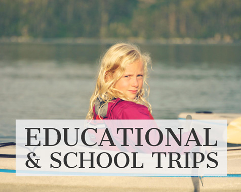 Custom Alaska boat charters can cater for educational & school trips