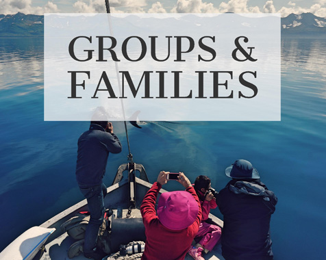 Custom Alaska boat charters are perfect for groups & families