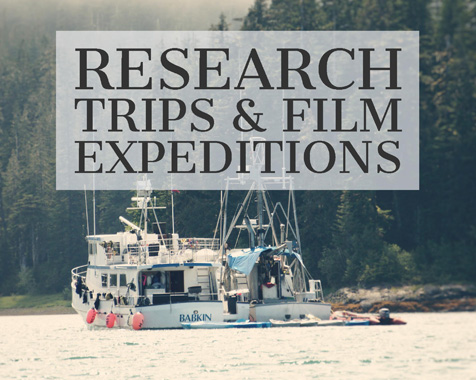 Custom Alaska boat charters are available for Bio Research & Film expeditions