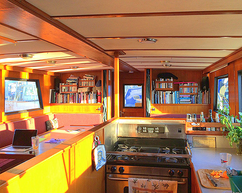 Image of Babkin Alaska charter boats - The Babkin Galley